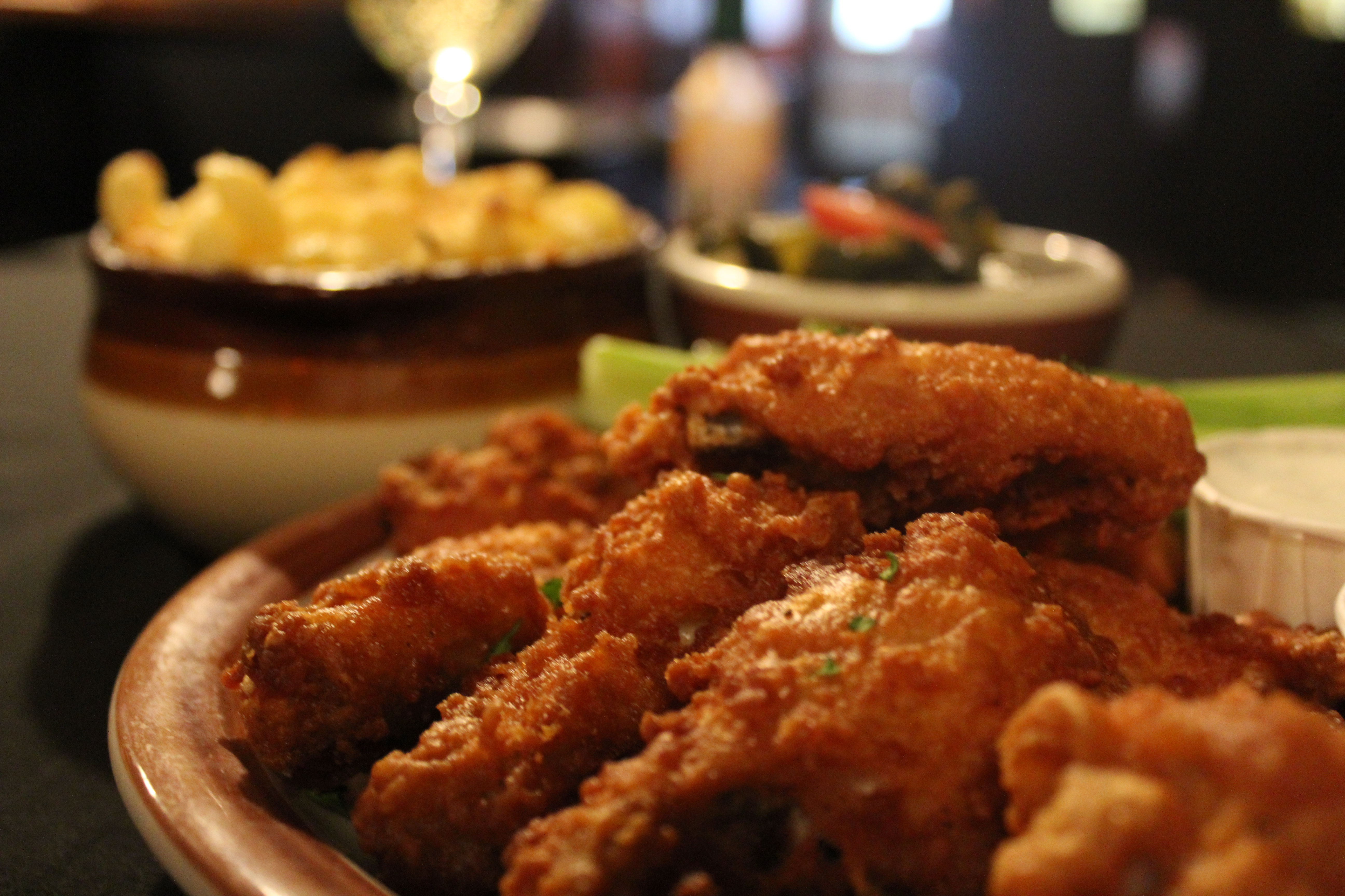 Chicken wings and chips - 1 part 4
